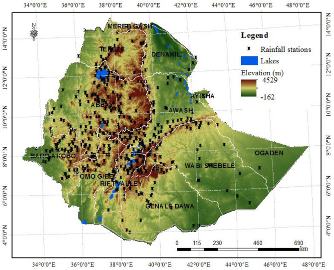 Assessing potential land suitable for surface irrigation using