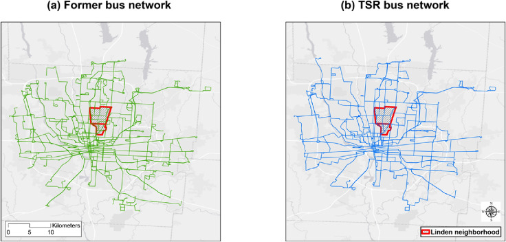 Measuring the impacts of new public transit services on space-time