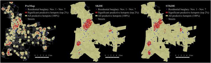 A spatio-temporal kernel density estimation framework for predictive