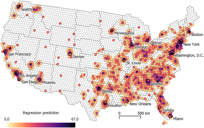 Mapping crime – Hate crimes and hate groups in the USA: A ...
