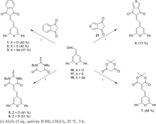 Proaromatic Pyranylidene Chalcogen Analogues And Cyclopentac