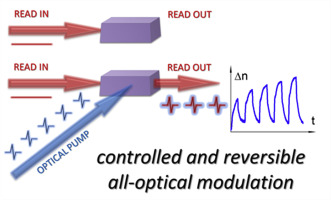 An optical modulator on the pyrazolone-based bi-component