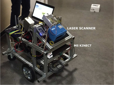 Fusion of 3D laser scanner and depth images for obstacle recognition