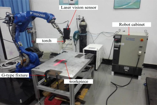 Laser vision seam tracking system based on image processing