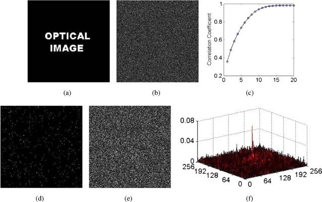 Optical information authentication using optical encryption