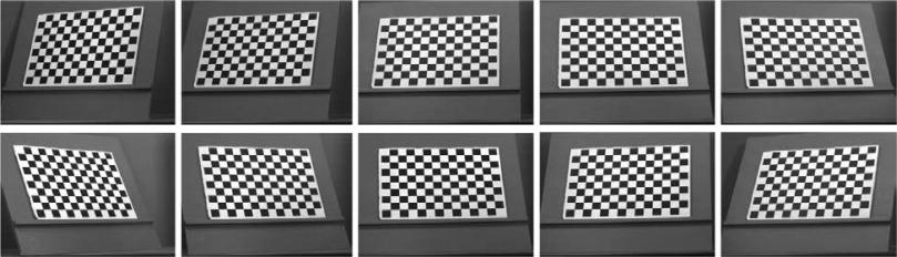 Camera calibration method based on optimal polarization angle