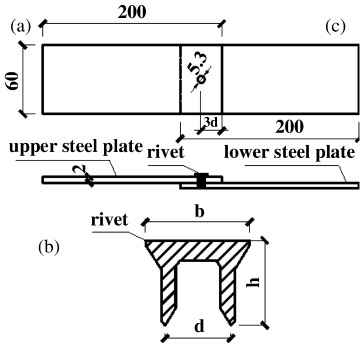 Experimental investigation and design method for the shear