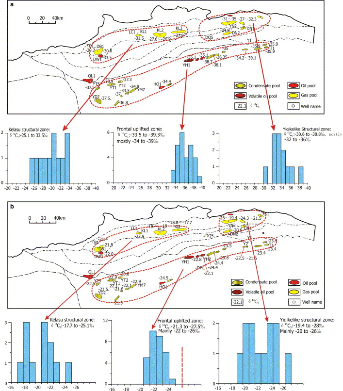 Gas systems in the Kuche Depression of the Tarim Basin: Source rock ...