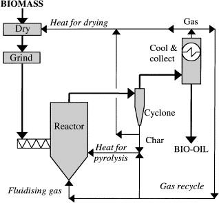 An overview of fast pyrolysis of biomass - ScienceDirect