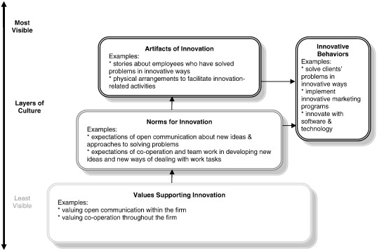 Organizational culture, innovation, and performance: A test