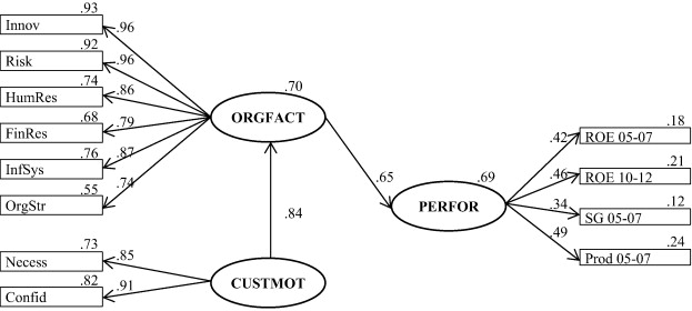 Organizational Factors And Customers Motivation Effect On