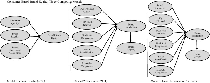 Nylon bloquear Estricto  A cross validation of Consumer-Based Brand Equity models: Driving ...