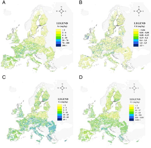31 overview of heavy metals concentrations in the soils of the european union