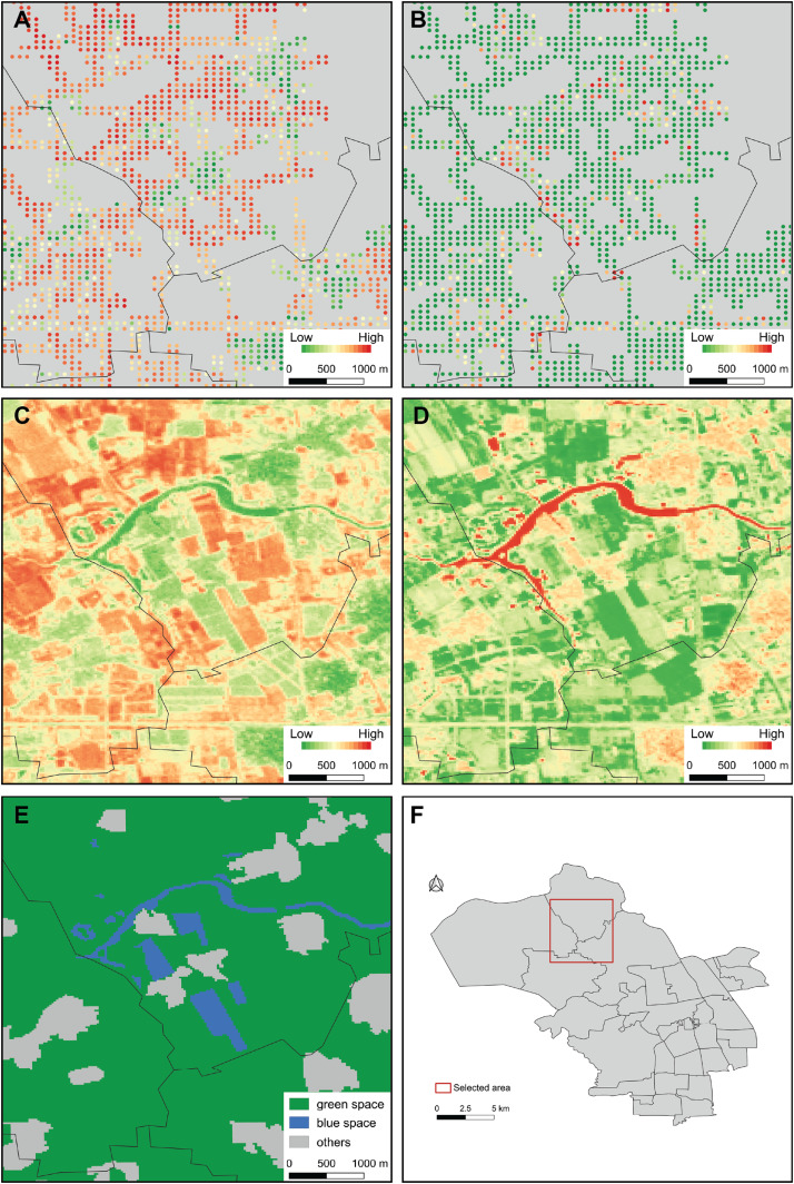Using deep learning to examine street view green and blue spaces and on transportation maps, social media maps, networking maps, driving directions maps, maps maps, google maps, al maps, home maps, travel maps, education maps, advertising maps, weather maps, zip codes maps,