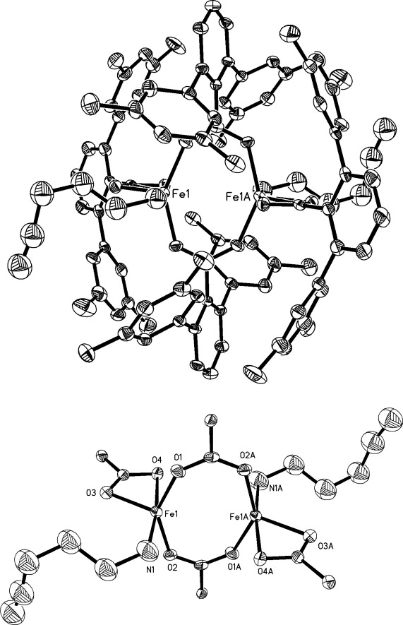Synthesis And Oxidation Of Carboxylate Bridged Diironii Complexes