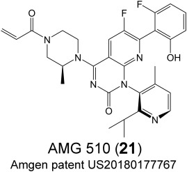Drugging K-RasG12C through covalent inhibitors: Mission