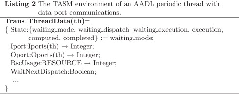From AADL to Timed Abstract State Machines: A verified model