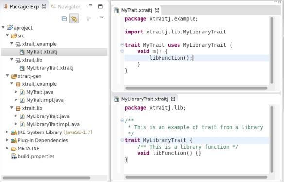 Xtraitj: Traits for the Java platform - ScienceDirect