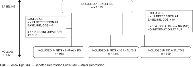 The role of spousal loss in the development of depressive