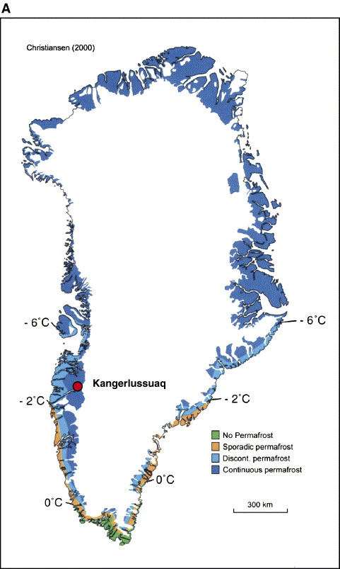 Mapping Of Permafrost Surface Using Ground Penetrating Radar At