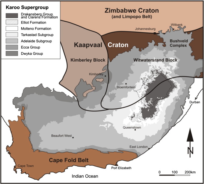 South Africa's coalfields — A 2014 perspective - ScienceDirect