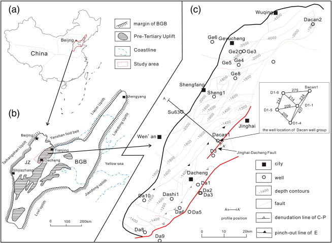Evaluation Of Geological Features For Deep Coalbed Methane