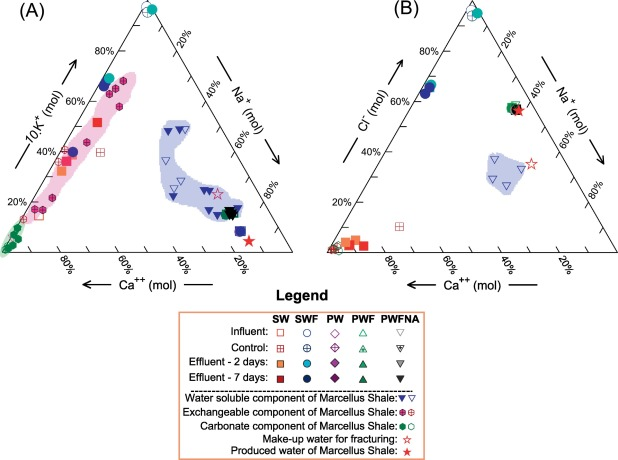 Role of water−rock interaction in the geochemical evolution