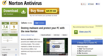 Detecting fake anti-virus software distribution webpages