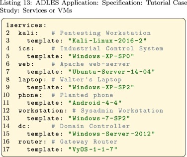 ADLES: Specifying, deploying, and sharing hands-on cyber-exercises
