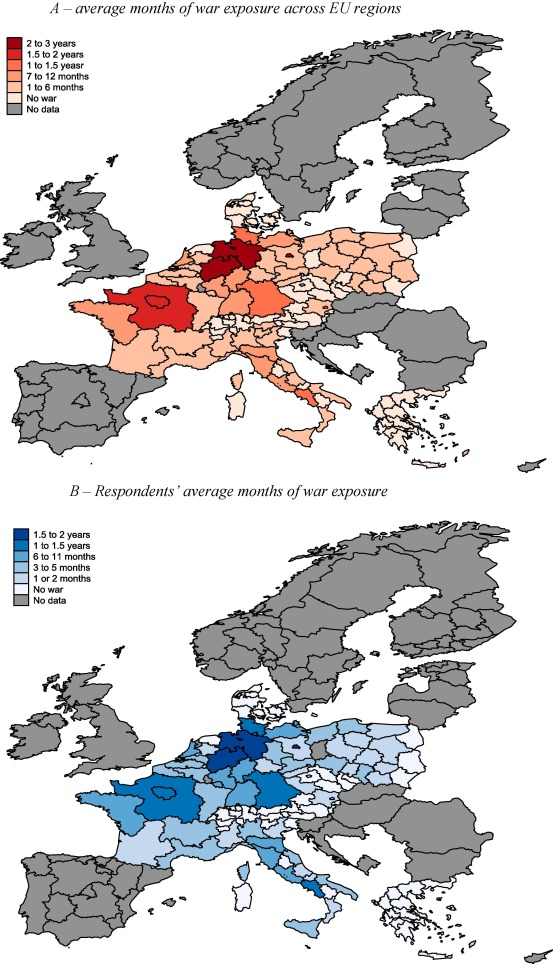 Childhood exposure to the Second World War and financial risk taking