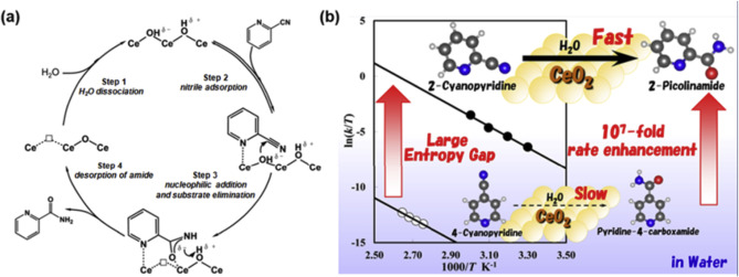 Regulating the surface of nanoceria and its applications in