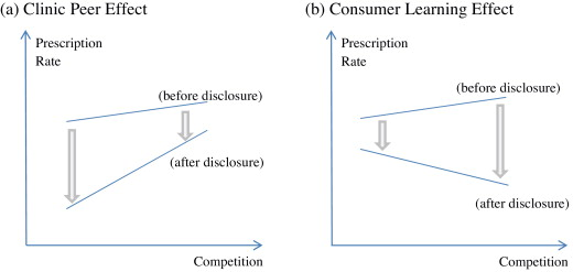 Information disclosure and peer effects in the use of