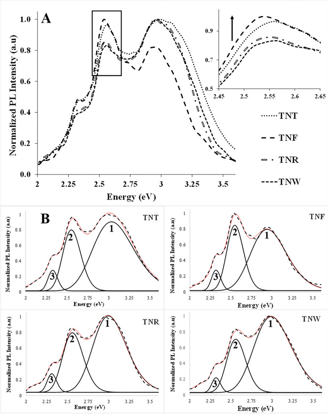 The Influence Of The Morphology Of 1d Tio2 Nanostructures On