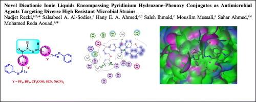 A novel dicationic ionic liquids encompassing pyridinium