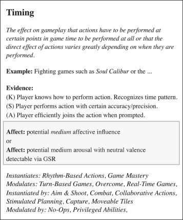 Affective patterns in serious games - ScienceDirect
