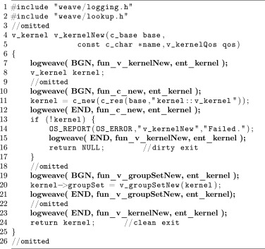 A framework for on-line timing error detection in software systems