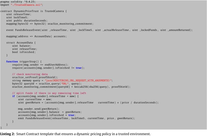 Trust management in a blockchain based fog computing platform with