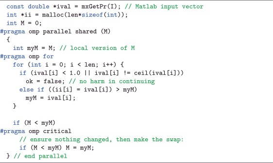 Fast Matlab compatible sparse assembly on multicore