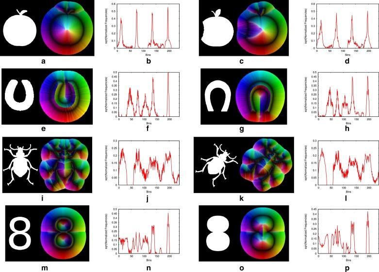 TSS & TSB: Tensor scale descriptors within circular sectors