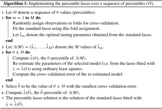 Stabilizing the lasso against cross-validation variability