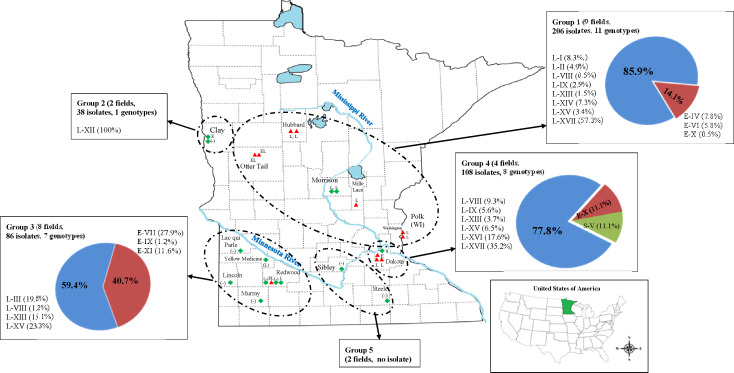 Site-specific distribution and competitive ability of indigenous