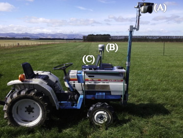 Urine patch detection using LiDAR technology to improve