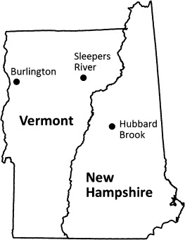 Vermont frost depth penetration know site