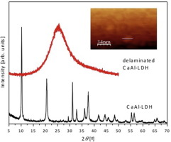 Ultrasound-assisted reconstruction and delamination studies on CaAl
