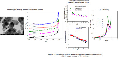 A comparative study of some kaolinites surface properties