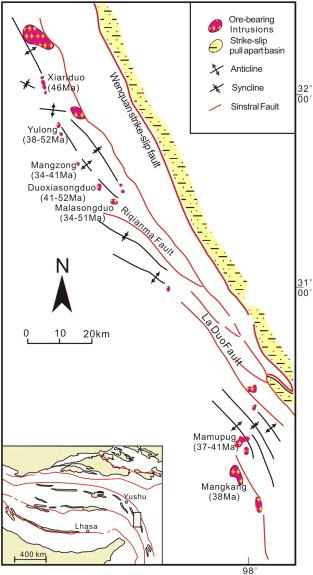 Geodynamics and metallogeny of the eastern Tethyan metallogenic