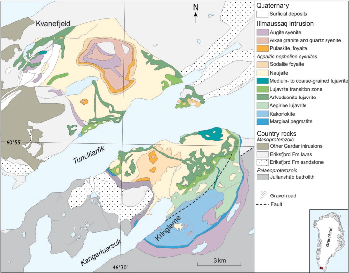 Europes rare earth element resource potential an overview of ree geological map of the ilmaussaq syenite complex showing the location of the main ree deposits after upton 2013 gumiabroncs