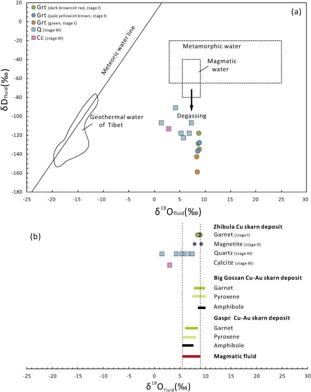 Alteration And Mineralization At The Zhibula Cu Skarn Deposit