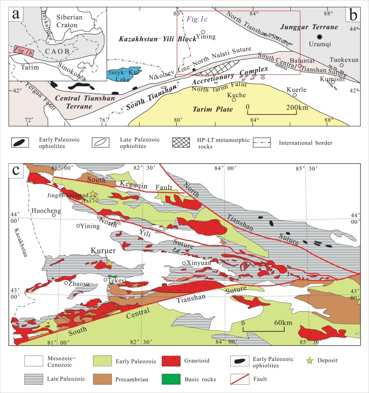 Geology, fluid inclusion and H-O-S isotopes of the Kuruer Cu-Au ...