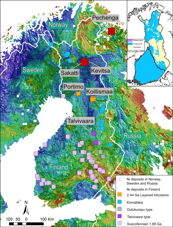 Ni Cu Pge Deposits In Finland Geology And Exploration